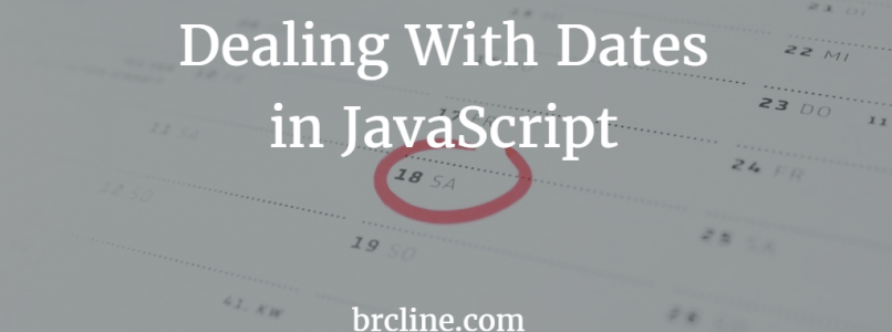 Dealing With Dates in JavaScript