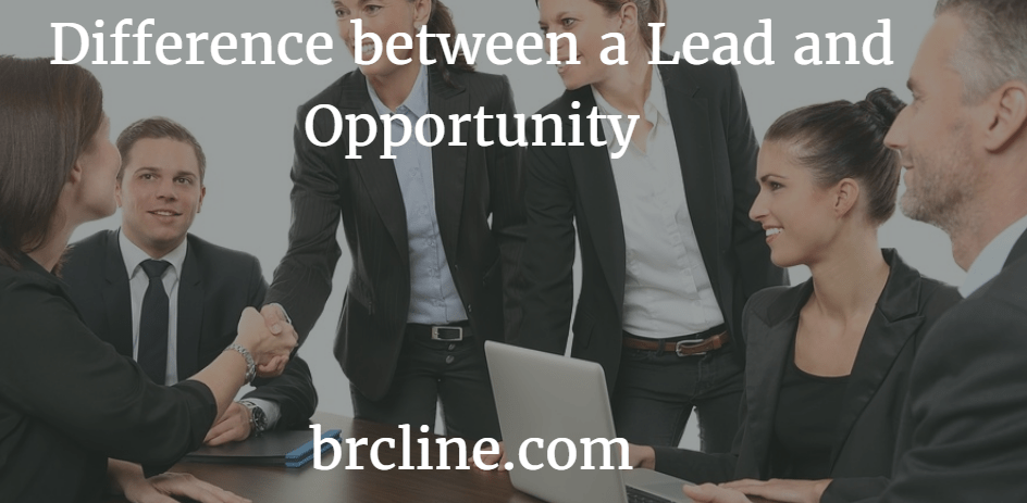Difference Between a Lead and Opportunity in Salesforce
