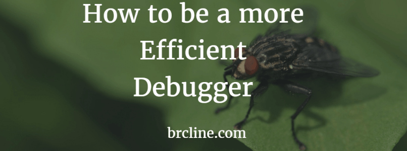 How to be a More Efficient Debugger