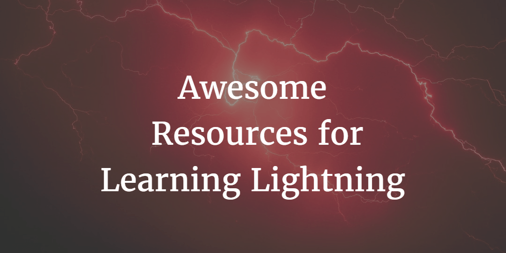 Awesome Resources for Learning  Salesforce Lightning