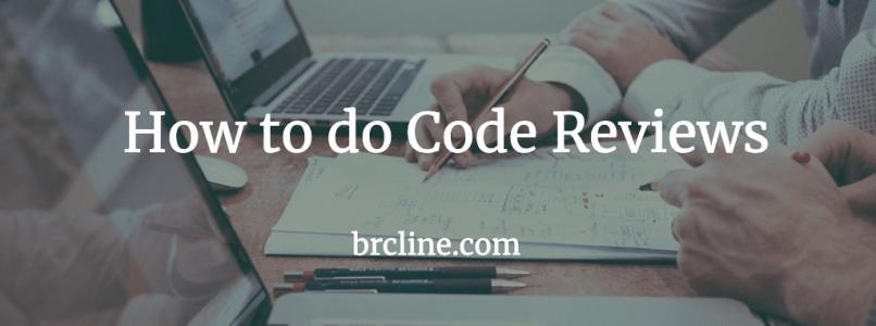 How to do code reviews