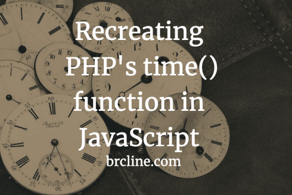Recreating PHP's time() function in JavaScript