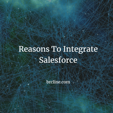 Reasons To Integrate Salesforce