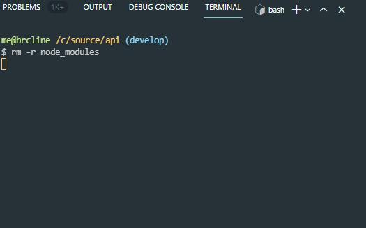 How to Delete node_modules on Windows